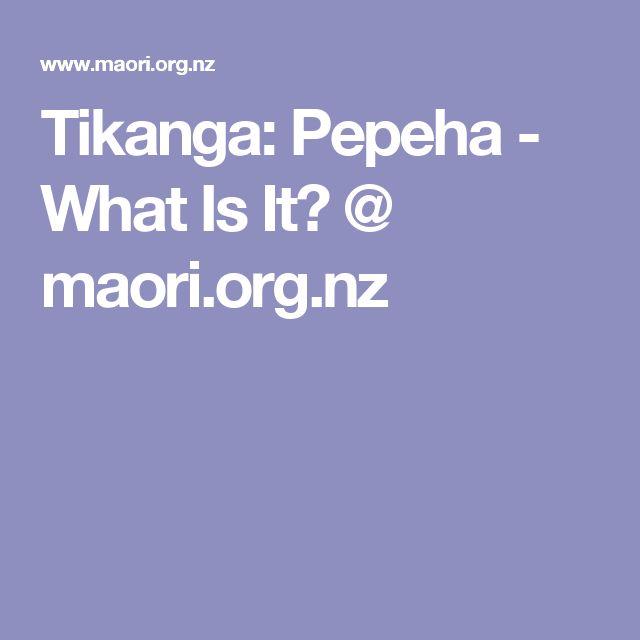 Tikanga: Pepeha - What Is It?@ maori.org.nz