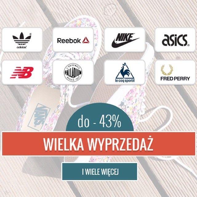 Wlasnie Wystartowalismy Z Wielka Promocja Promo Wyprzedaz Sale Promocja Adidas Reebok Nike Asics Newbalance Palladiun Lecoqsportif Fredperr Insta