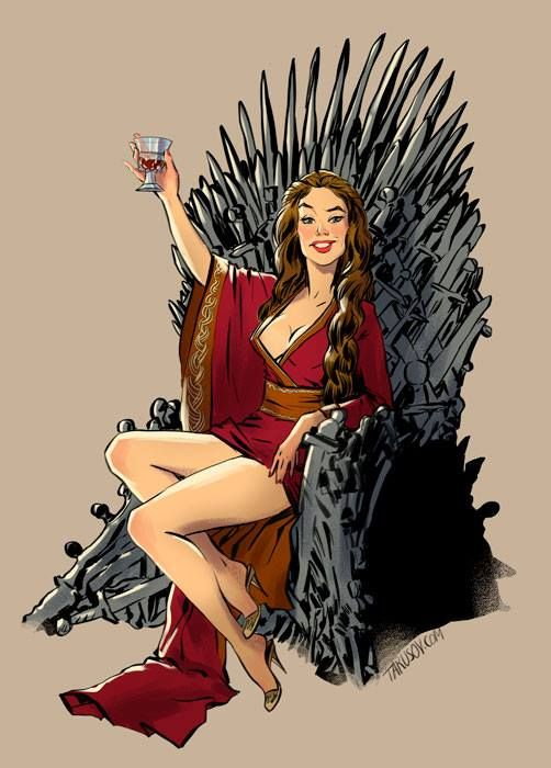 Some dude made some Game of Thrones Pin-up posters - Album on Imgur