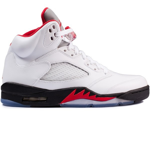 """Brand new Nike collectionAir Jordan 5 Fire red Designed by Tinker Hatfield  inspired by the WWII Mustang fighter plane and worn by """"His Airness"""" on his  way ..."""