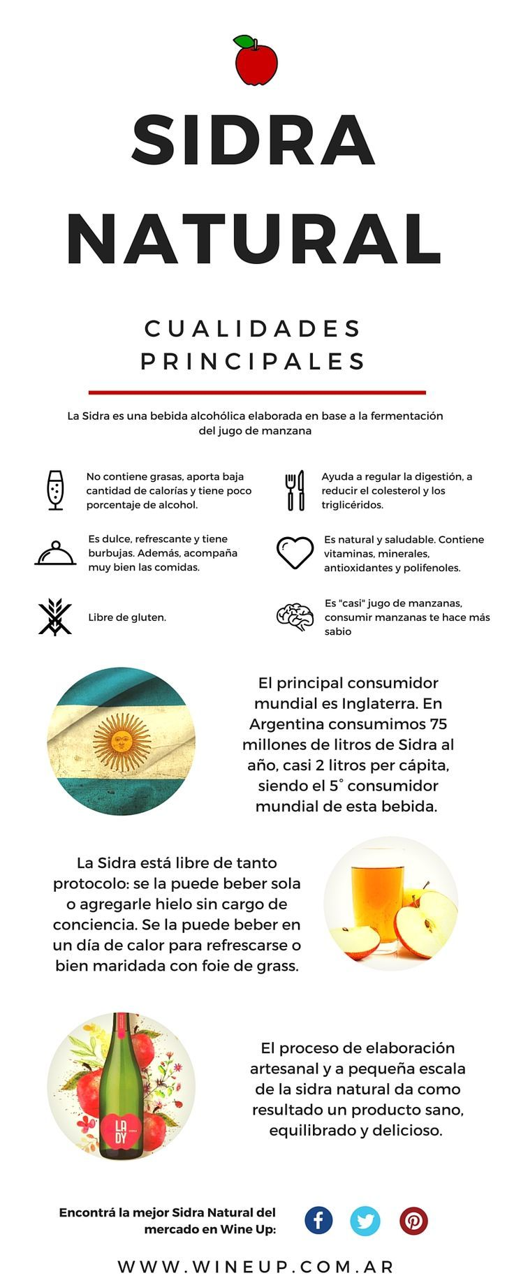 la Sidra Natural - Wine Up - Mendoza, Argentina