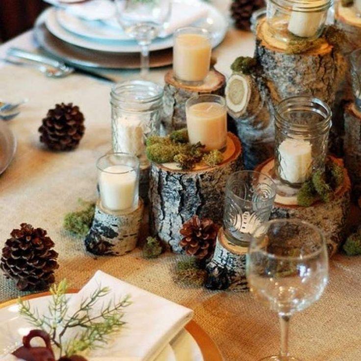 Mesas de Navidad para sorprender a tus invitados.