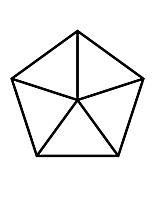 fractions of 5-sided Polygon