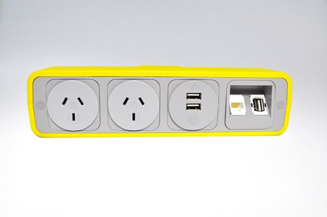 Elsafe presents the PULSE-8 range! Colour your life with #power, #data, #TUF charging & #AV in 1 vibrant unit! Seen here in #Yellow