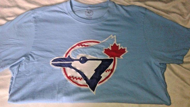 MLB Baseball Toronto Blue Jays All Pro Tshirt by 47 Sports Apparel | Sports Mem, Cards & Fan Shop, Fan Apparel & Souvenirs, Baseball-MLB | eBay!