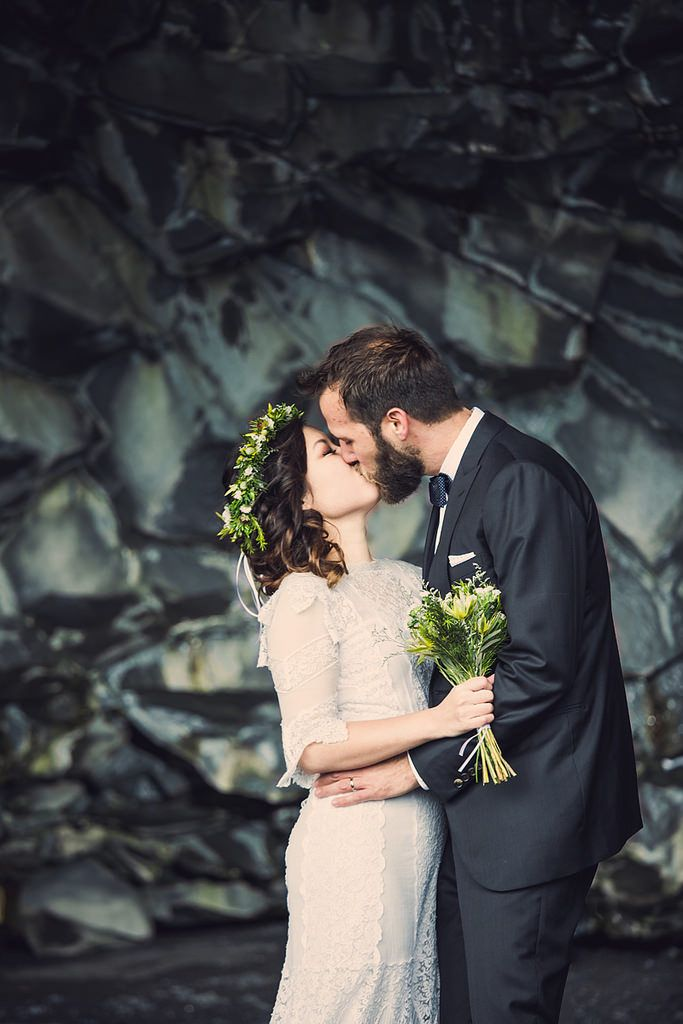 Scenic Iceland wedding from @offbeatbride
