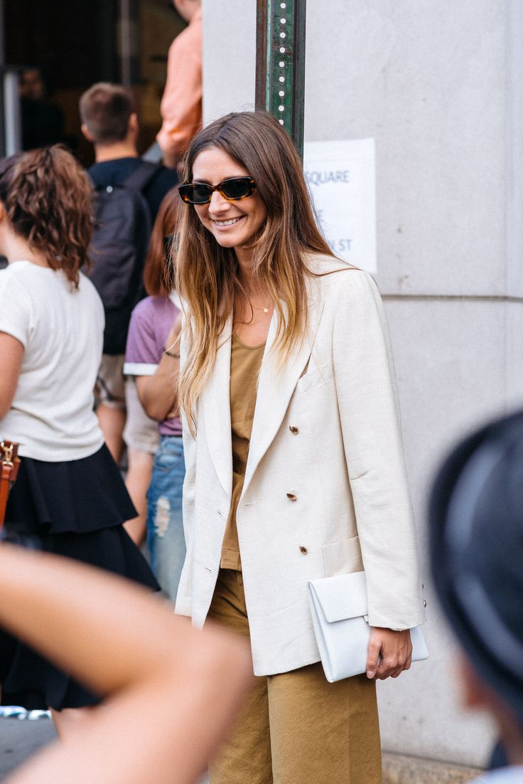Brie Welch style at New York Fashion Week © María Gibbs