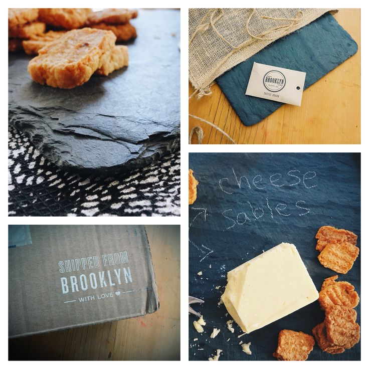 Mindful Giving & thoughtful living, with Uncommon Goods. Including a recipe for these Cheese Sables.