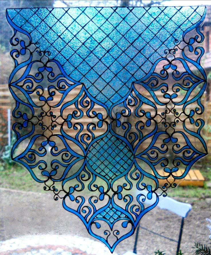 426 best images about craft stain glass on pinterest for What kind of paint to use on glass