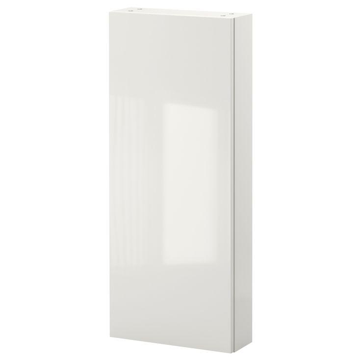 GODMORGON Bovenkast met 1 deur - hoogglans wit - IKEA