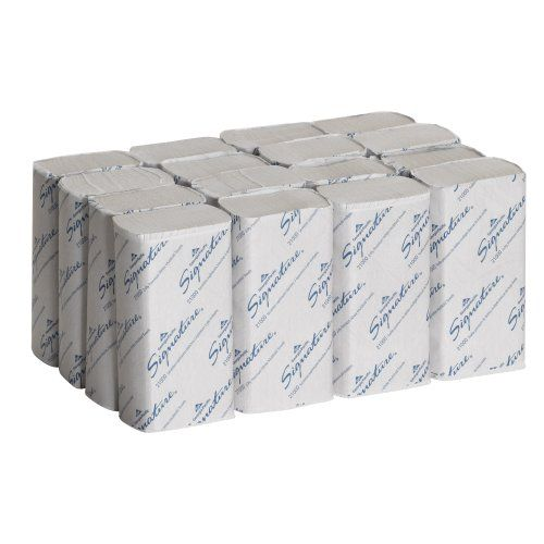 Georgia-Pacific GEP21000 Signature 2-Ply Premium Multifold Paper Towel, White, 9.4-inch x 9.2-inch (Case of 16 Packs, 125 per Pack) Georgia-Pacific http://smile.amazon.com/dp/B004YK2KSM/ref=cm_sw_r_pi_dp_qPN.wb19PK5P6