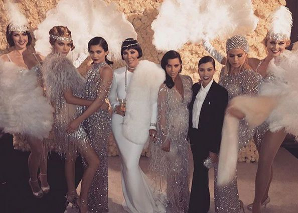 So there was A LOT of drama at Kris Jenner's 60th bash...