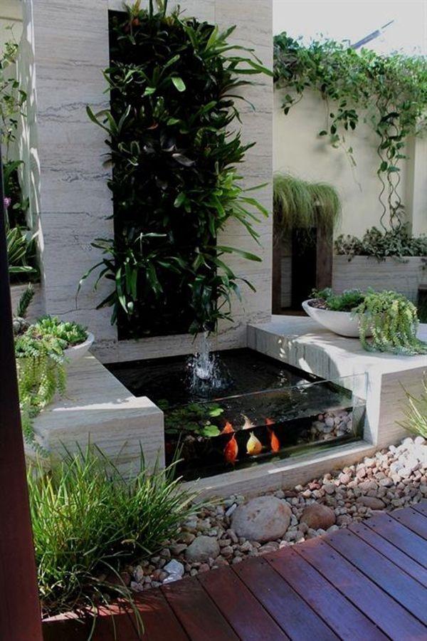 37 Small Fish Pond Ideas To Refresh Your Outdoor Home Design And Interior In 2020 Garden Pond Design Pond Design Ponds Backyard