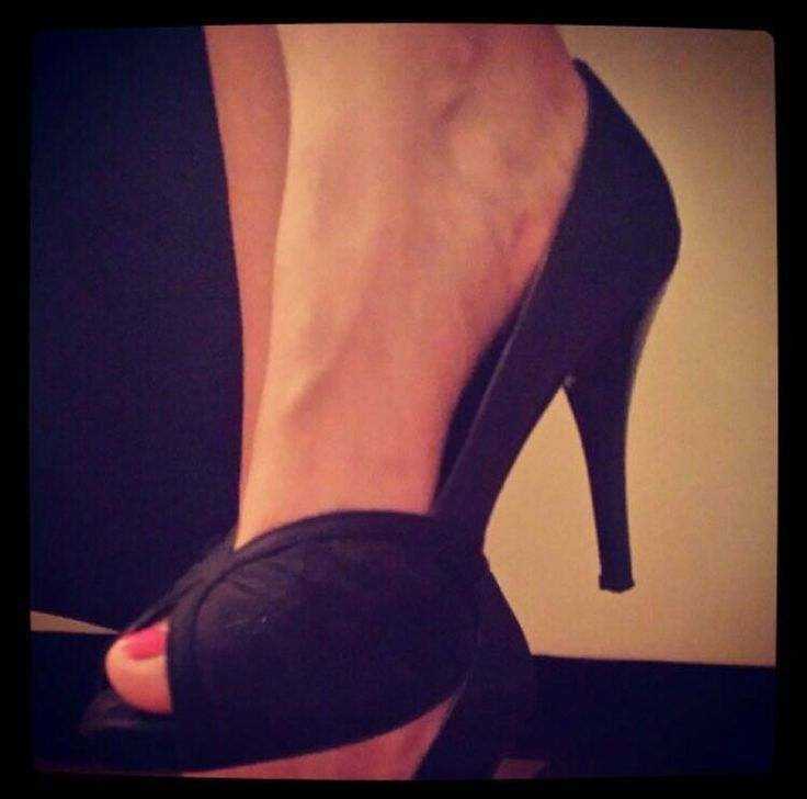 #Shoes #HighHeels #Zara #Black #Lace #Nice