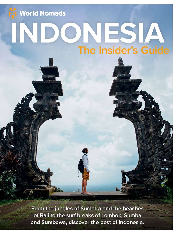 Free! Indonesia Insiders Guide by World Nomads new for