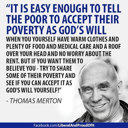 Thomas Merton on Poverty