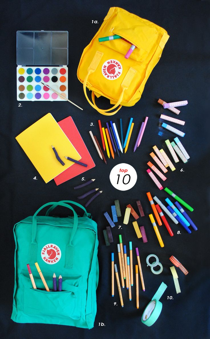 Childrens arts and crafts supplies - Top 10 Favorite Art Supplies Mer Mag