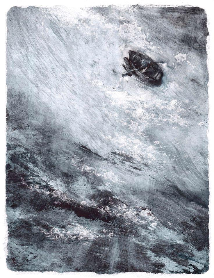 Э. Хемингуэй. Старик и море Иллюстратор Слава Шульц, 2016