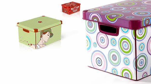 Como hacer cajas organizadoras decorativas cajas decoradas pinterest - Cajas de carton decoradas baratas ...