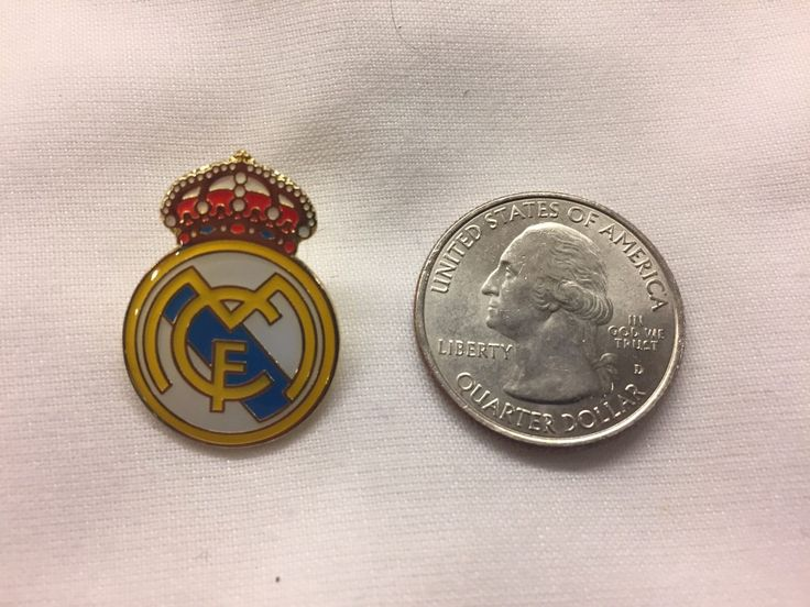 Real Madrid Spain Soccer Team Lapel Pin Free Shipping Within USA
