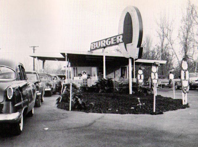 Burger Q, West Covina, 1961