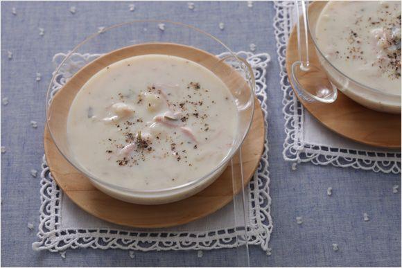 じゃがいもの冷たいスープ|9月の食材と美味レシピ|「栄養学 x 奥薗流」|コミコミクリニック みんなの家庭の医学