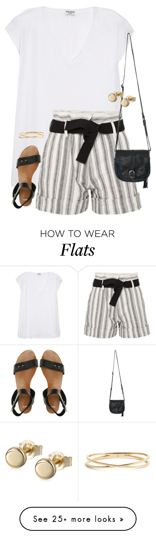 """""""Untitled #2726"""" by coolchick1630 on Polyvore featuring Frame, ASOS, Vanessa Bruno, Sans Souci and Nadri"""