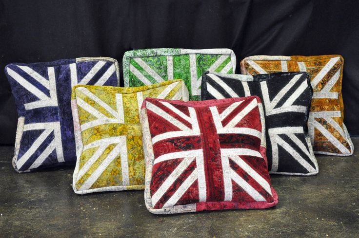 The latest addition to our handmade cushion ranges, are our gorgeous new Union Jack floor cushions. Filled with beans, these cushions are perfect for making your floor a much more comfy place! http://sourcemondial.co.nz/rugs/cushions/