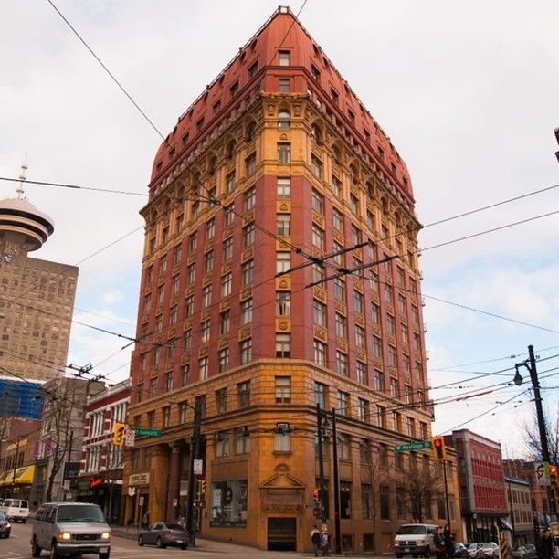 Dominion Building #travel #Vancouver #Gastown #history