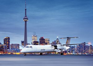 50% OFF Porter Airlines for Canada-wide and U.S. travel from Toronto and Ottawa through Labour Day.
