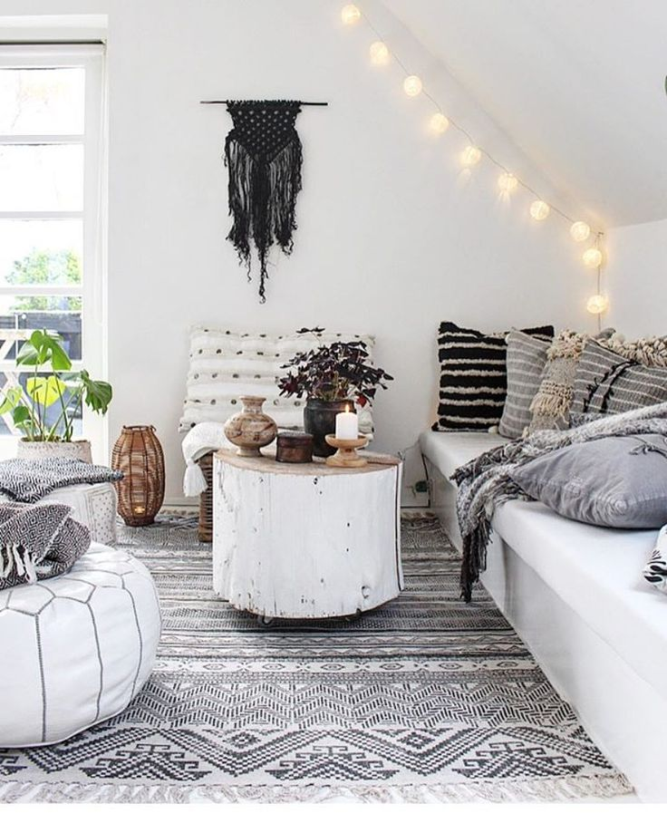 17 best ideas about bohemian living rooms on pinterest for Scandinavian style wohnen