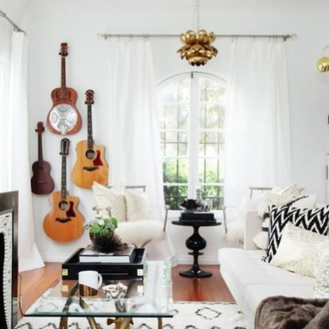 Rock N Roll Home Decor Ideas And Where To Find Rocker Chic Acces