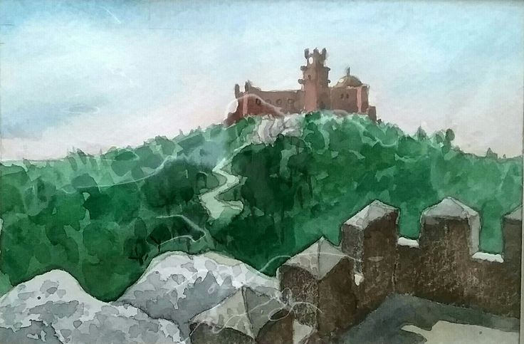 Sintra - watercolour - Daniel
