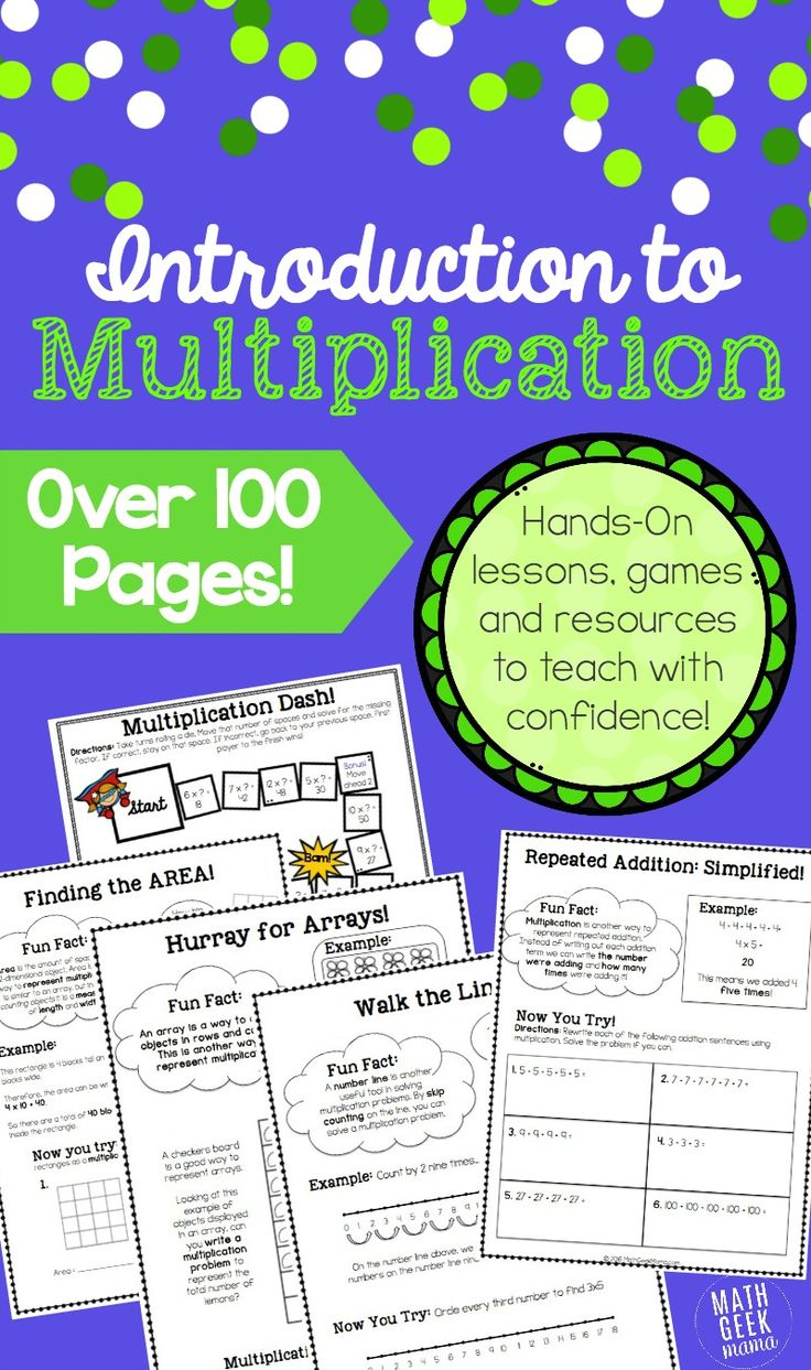 41 best Multiplication and Division images on Pinterest | Activities ...