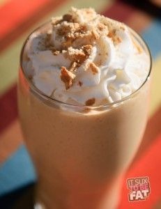 Pumpkin Pie Protein Shake...Yes Please 1 scoop Vanilla Protein Powder (I used Designer Whey)  1 cup lowfat milk (could use any kind of milk – adjust Weight Watchers points accordingly)  1 Tablespoon Fat Free/Sugar Free Cheesecake Pudding Powder  3 Tablespoons Canned Pumpkin (NOT pumpkin pie filling)  1/4 teaspoon pumpkin pie spice  Handful of Ice