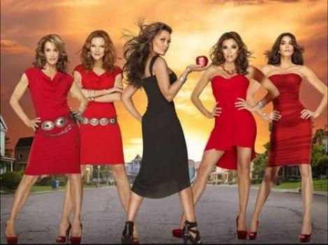 Desperate Housewives (2004-2012) with Teri Hatcher, Felicity Huffman, Marcia Cross and Eva Longoria.