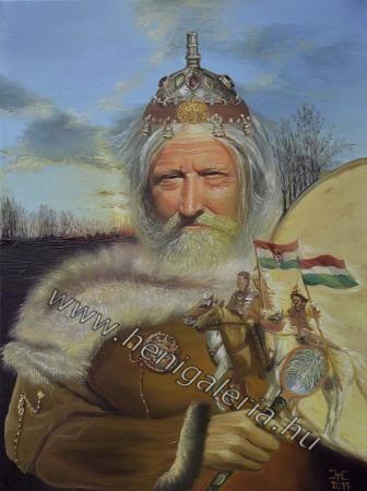 Scythian shaman is the guard of the ancestors Szkíta sámán az ősök őre
