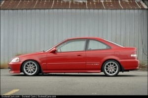 2000 Honda Civic Si Coupe - http://sickestcars.com/2013/05/14/2000-honda-civic-si-coupe/