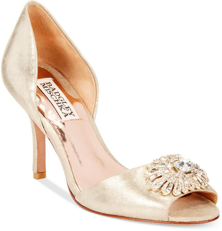 Shop For Jazmin II Evening Pumps By Badgley Mischka At ShopStyle