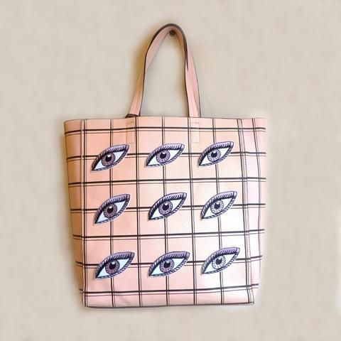 All Eyes Shopper *Limited edition* - Kate Garey https://www.kategarey.com/collections/handbags-accessories