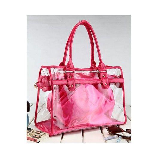 Cute clear handbag