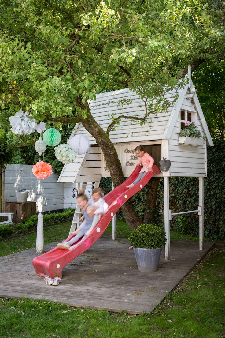 Best 25+ Playhouse slide ideas on Pinterest | Outdoor playsets for kids,  Play sets outdoor and Kids playset outdoor