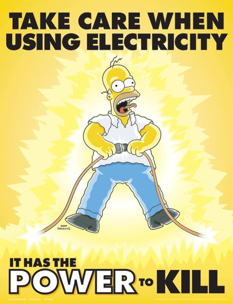 While electrical safety tips may seem like second nature to those of us who work with electricity year round, it's not such common knowledge to the general