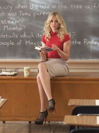 Still of Cameron Diaz in Bad Teacher Taken from The Hollywood Reporter thehollywoodreporter.com