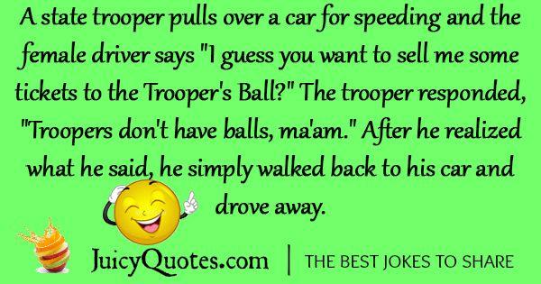 Funny Police Joke - 4