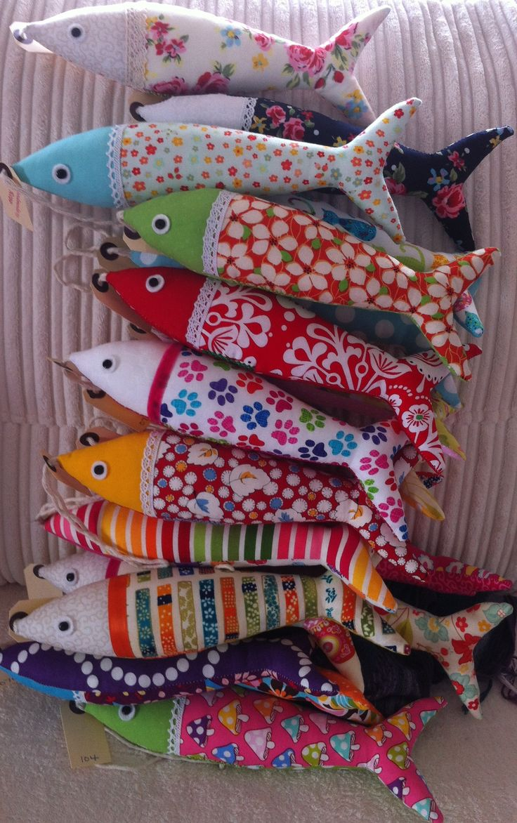 Fabric sardines! https://www.facebook.com/ola.fishywishy