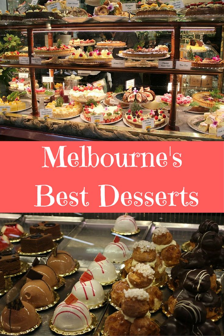 A Melburnian's guide to the top 3 dessert eateries in Melbourne!