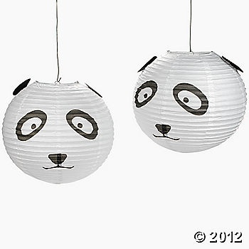 sold at Oriental Trading but out of stock...could easily make with plain white lanterns and glue on the ears, eyes, mouth.