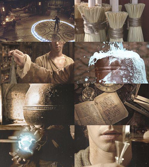 Fairy Tale Picspam→ The Sorcerer's Apprentice
