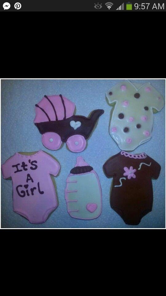 Baby Shower Cookies Cookies Pinterest Baby Shower